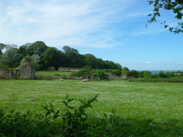 Abbey of Quarr Wall Ruins