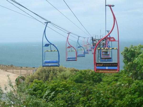 Alum Bay Chair Lift