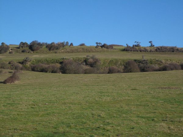 Culver Down Crater