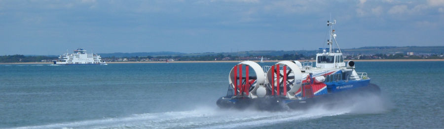Hovercraft Wightlink Ferry Location