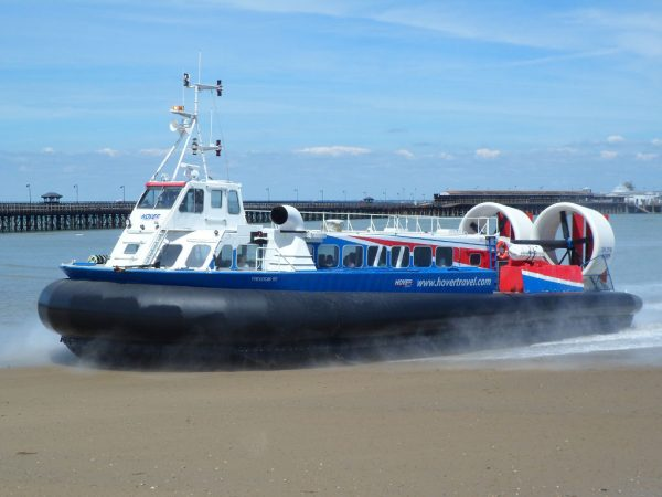 Isle Of Wight Hovercraft Ryde Pier