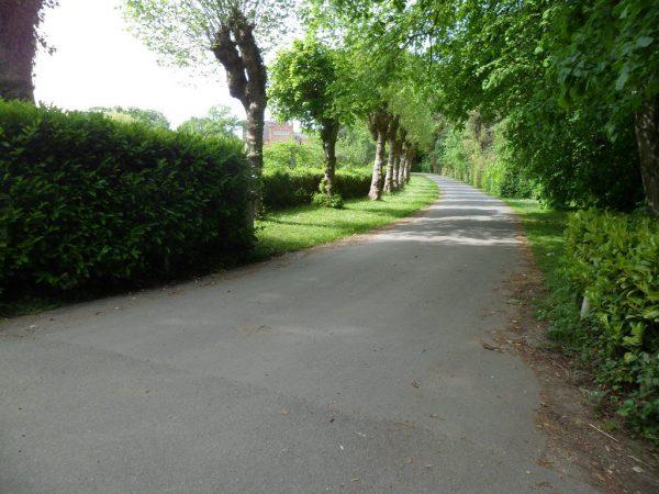 Quarr Abbey Drive Entrance