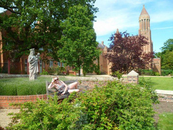 Quarr Abbey Grounds