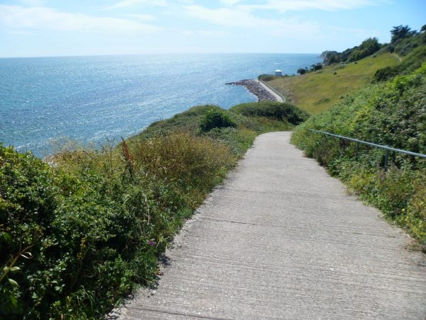 Steephill Cove Path