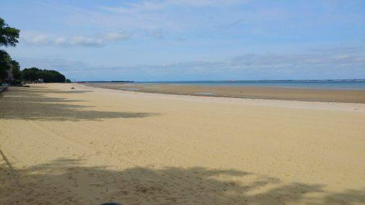 Appley Beach Tide Out