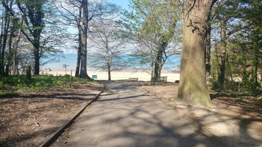 Appley Path to Beach